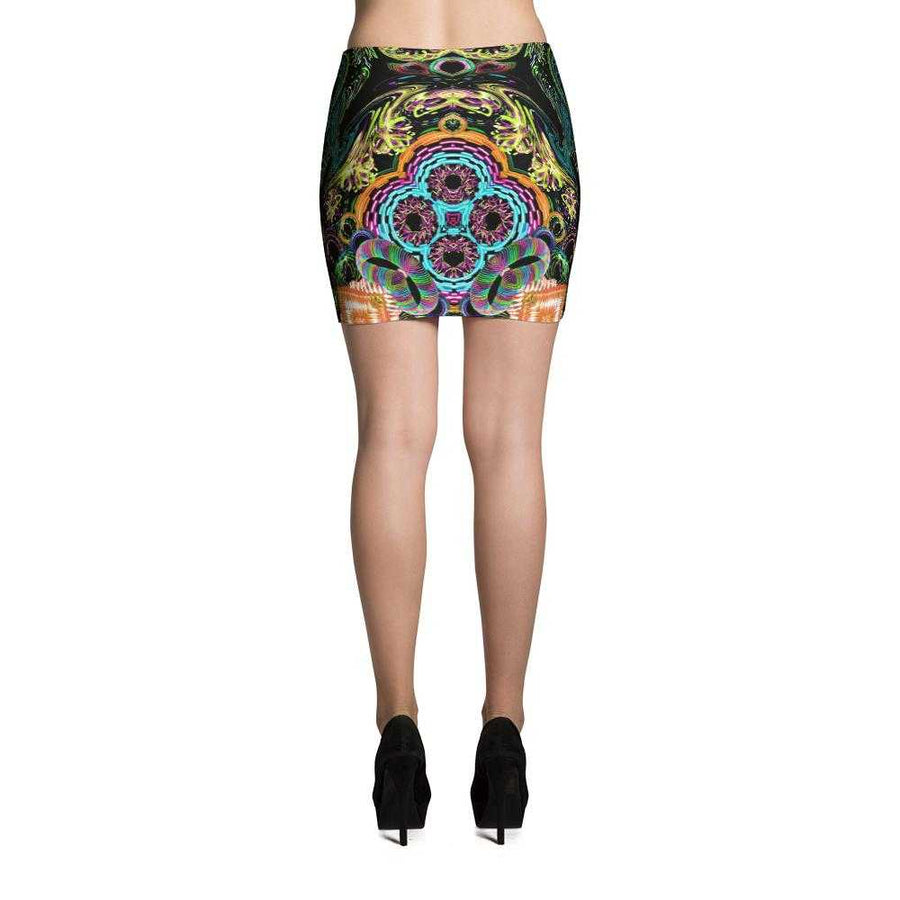 Orbit Artist Women's Fitted Mini Skirts