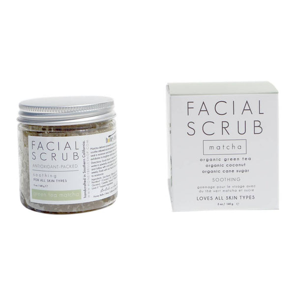 Facial Scrub Matcha by Honey Belle