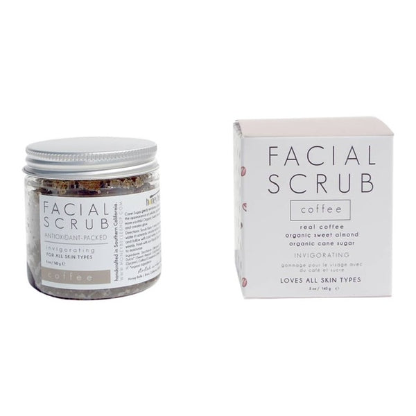 Facial Scrub Coffee by Honey Belle