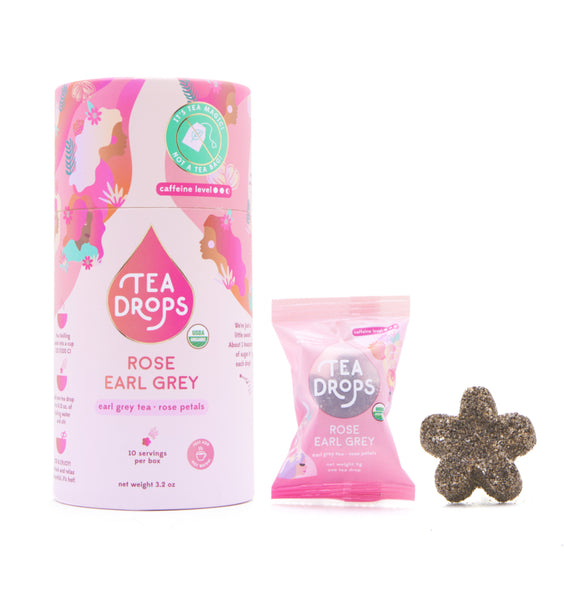 "Tea Drops Instant Tea Pods ""Rose Earl Grey"""
