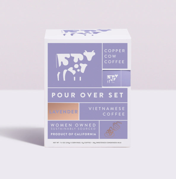 Copper Cow Coffee Pour Over Lavender