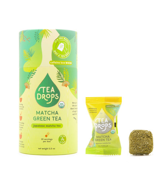 "Tea Drops Instant Tea Pods ""Matcha Green Tea"""
