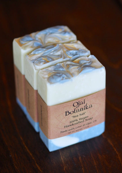 "Shea Butter Soap Bar by Ojai Botanika ""Sea Salt"""