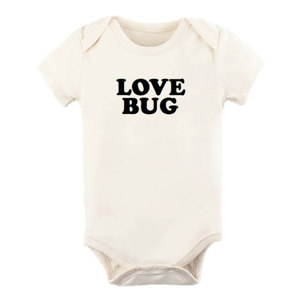 "Organic Cotton Onesie ""Love Bug"""