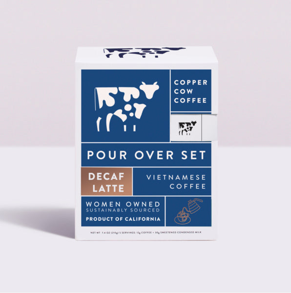 Copper Cow Coffee Pour Over Decaf