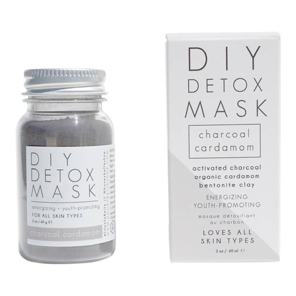 Detox Face Mask Charcoal Cardamom by Honey Belle
