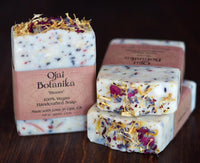 "Shea Butter Soap Bar by Ojai Botanika ""Rose"""