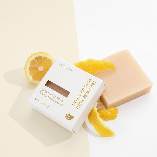 "Soap Bar w/ Shea Butter by Yuzu ""Japanese Yuzu"""