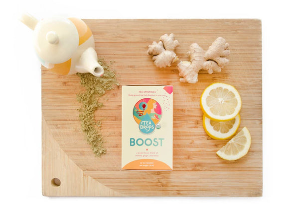 "Tea Drops Sugar Free Sprinkles ""Boost"""