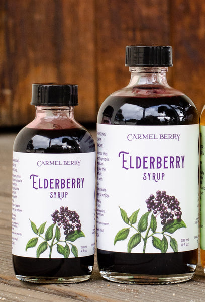 Elderberry Syrup by Carmel Berry