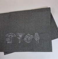 Four Mushrooms Towel