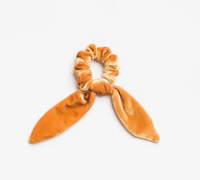 Harvest Moon Scrunchie Tie - Velvet Gold