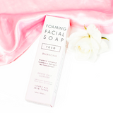 Foaming Rose Soap Facial Cleanser by Honey Belle