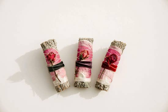 Sage + Rose Smudge Bundle
