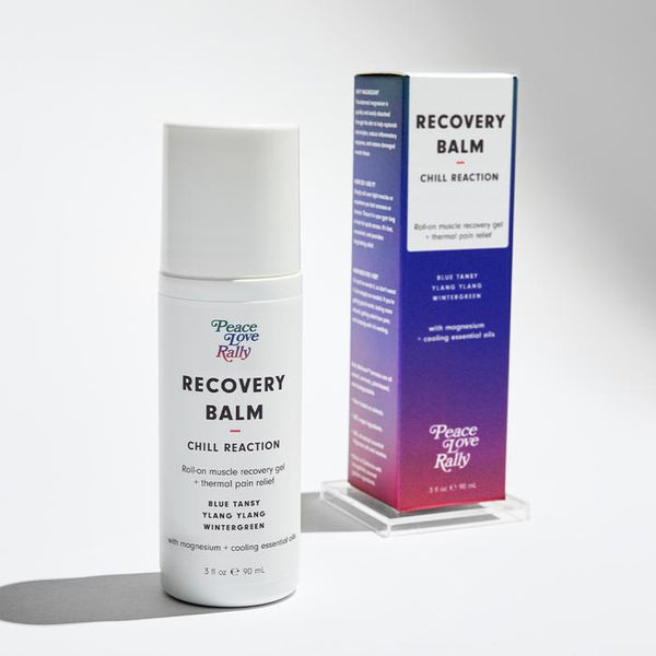 "Magnesium Recovery Balm by Peace Love Rally ""Chill Reaction"""