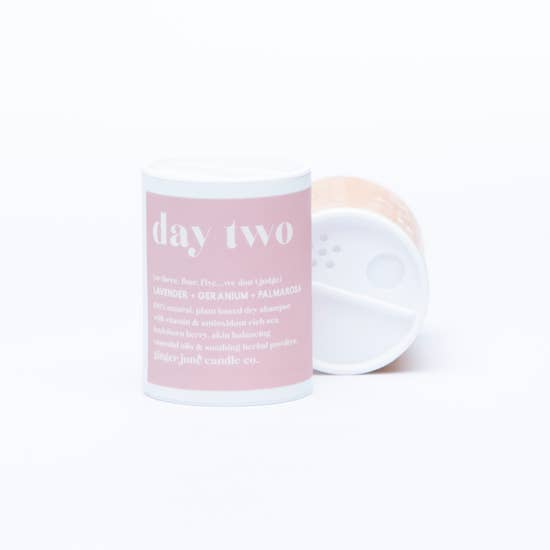 Dry Shampoo by Ginger June