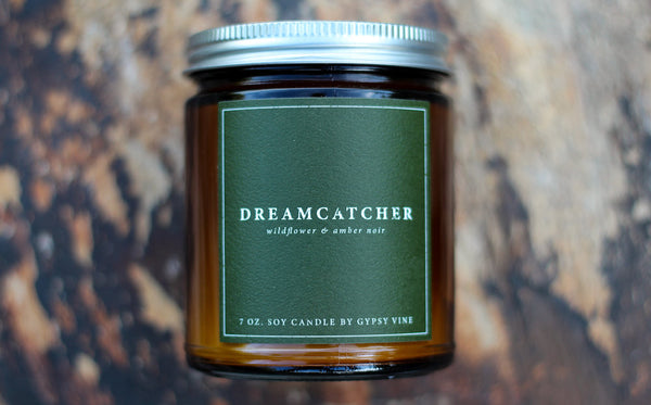 "Soy Candle by Gypsy Vine ""Dreamcatcher"""