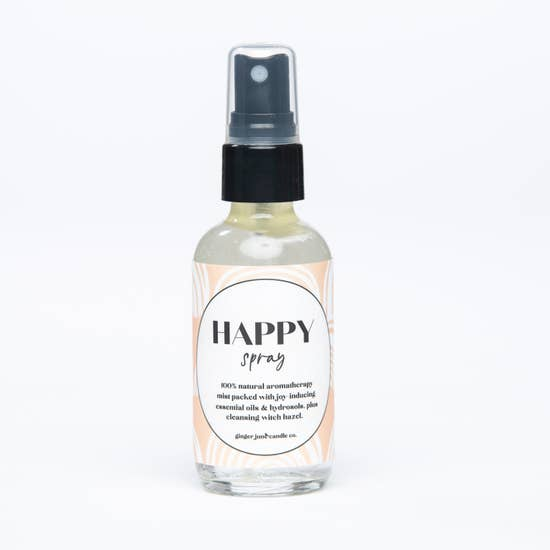 "Aromatherapy ""Happy"" Spray by Ginger June"