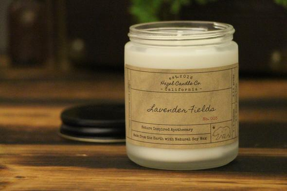 "Soy Candle by Hazel ""Lavender"""