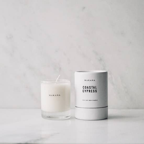 Soy Candle by Makana (4 scents)