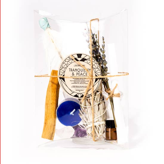 Ritual Smudge Kit Peace + Tranquility