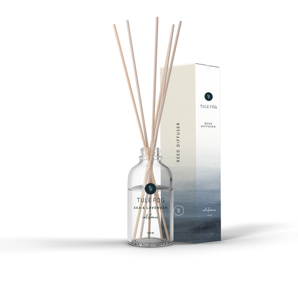 "Reed Diffuser by Tule Fog ""Sea + Lavender"