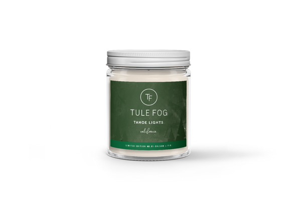 "Soy Candle by Tule Fog ""Tahoe Lights"""