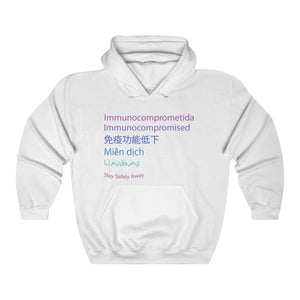 Womens Colorful Languages Sweatshirt