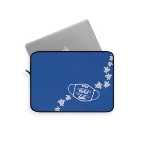 Laptop Sleeve- Stay Safely Away Turtles