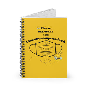 Bee-Ware Spiral Notebook