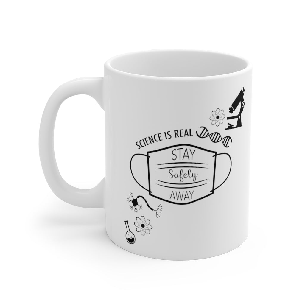 Science is Real 11oz Mug