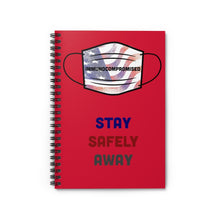 Load image into Gallery viewer, Patriotic Spiral Notebook