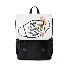 Load image into Gallery viewer, Backpack with Laptop Sleeve- Ice Cream