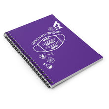 Load image into Gallery viewer, Science is Real Spiral Notebook - Purple