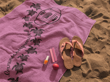 Load image into Gallery viewer, Beach Towel ~ Taffy Pink Immunocompromised