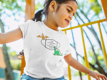 Load image into Gallery viewer, Immunocompromised Dinosaur: Girl's Youth Short Sleeve T-Shirt