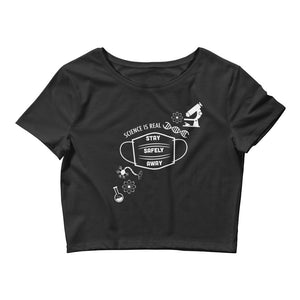 Science is REAL Dark Crop Top