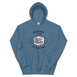 Unisex Immunocompromised Patriotic Hoodie