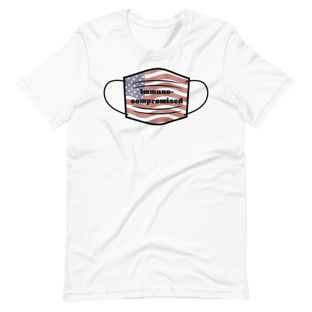Men's Patriotic Graphic T-Shirt