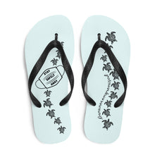 Load image into Gallery viewer, Seafoam Blue Flip-Flops