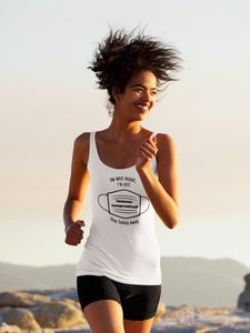 """I'm not Rude"" Casual Racerback Tank"
