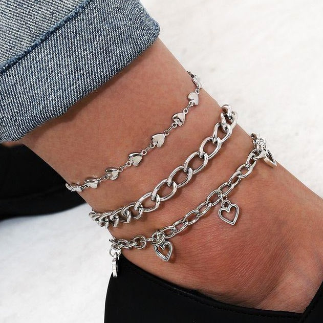 I HEART YOU! Anklet