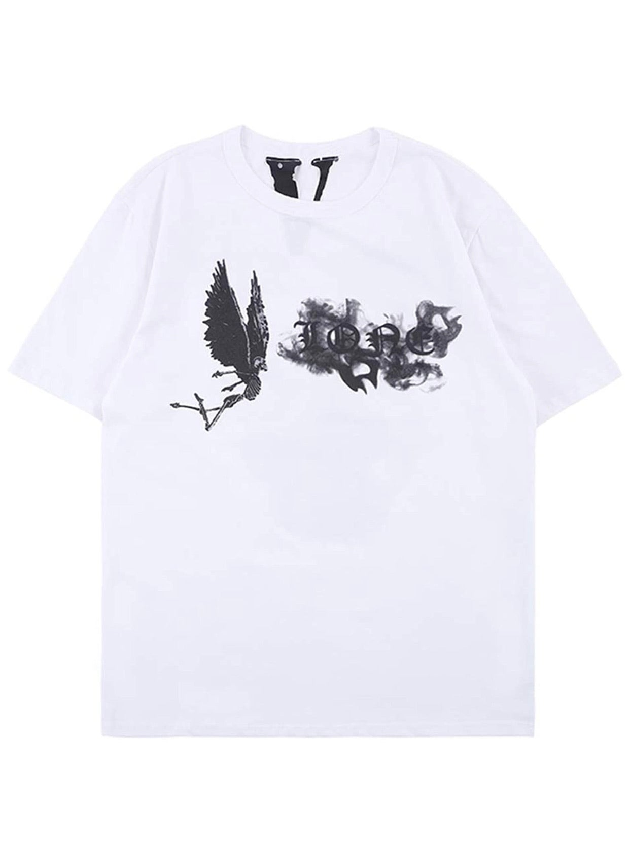Vlone Smoke Tee White