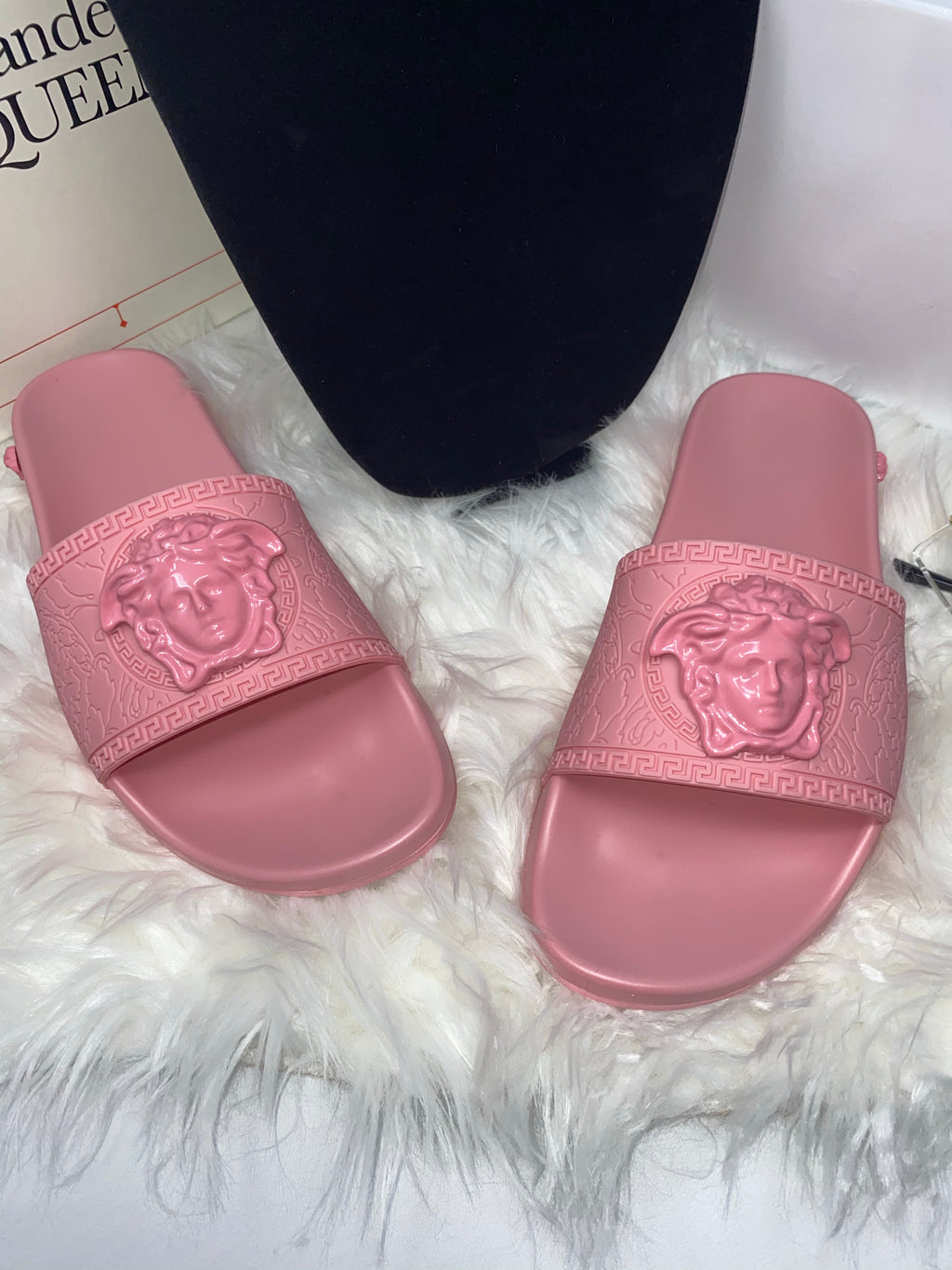 Versace Slides Light Pink sz 38, 39