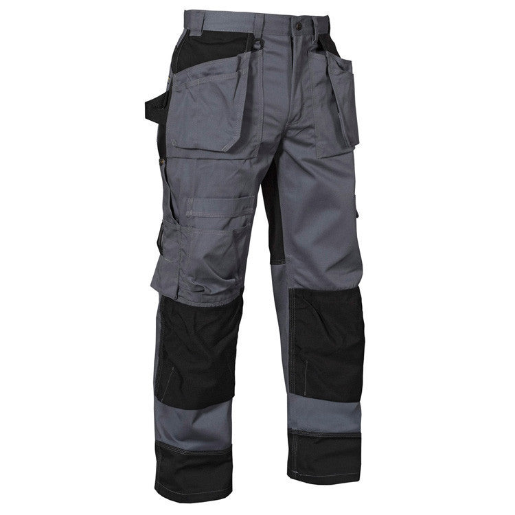 Blaklader 1504 1860 Craftsman Trousers Grey Black By Specific Workwear
