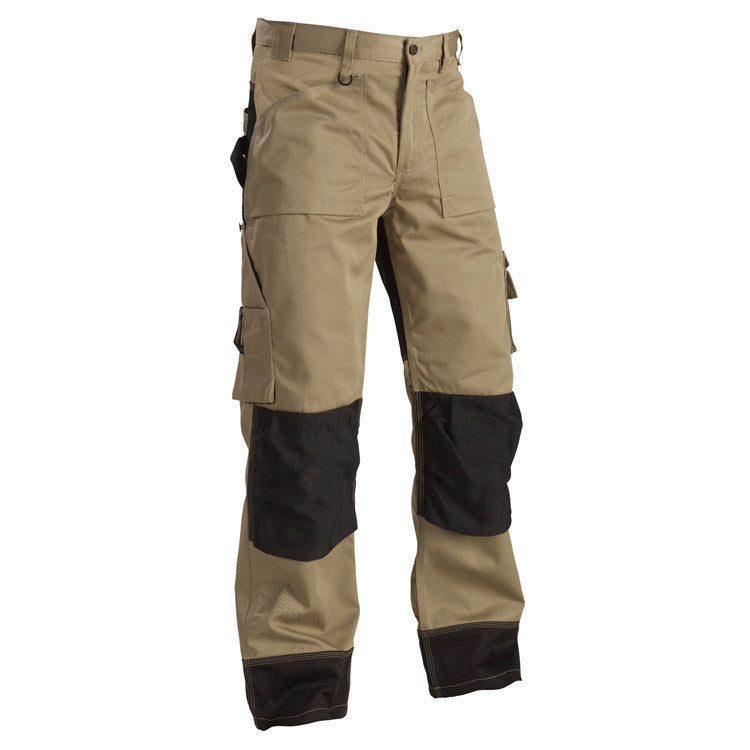 Blaklader 1523 1860 Craftsman Trousers Khaki Black By Specific Workwear