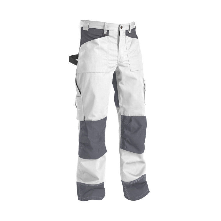 Blaklader 1523 1860 Painters Trousers White Grey