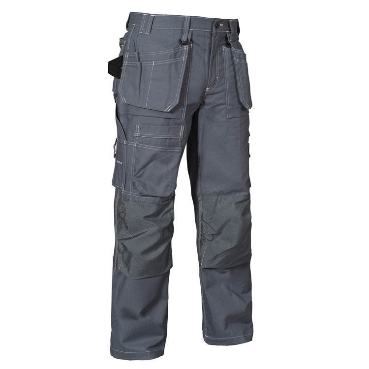 Blaklader 1532 1370 Craftsman Floor Layers Trousers Grey By Specific Workwear