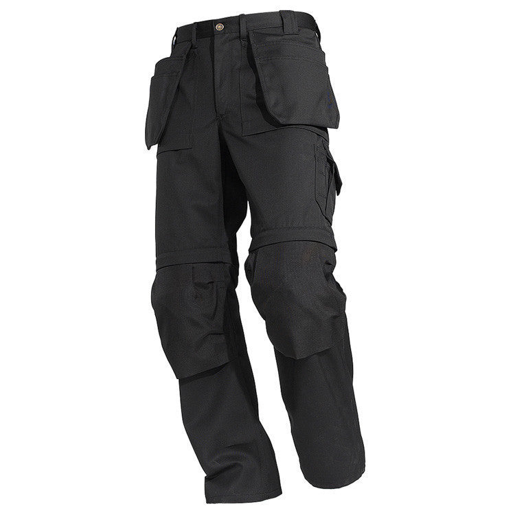 Blaklader 1538 1860 Zip Off Craftsman Trousers Black By Specific Workwear