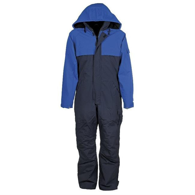 936998e1 Fristads Kansas 101077 Icon Airtech® Winter Coverall Navy / Royal ...